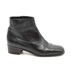 Cole Haan Black Leather Bootie 7
